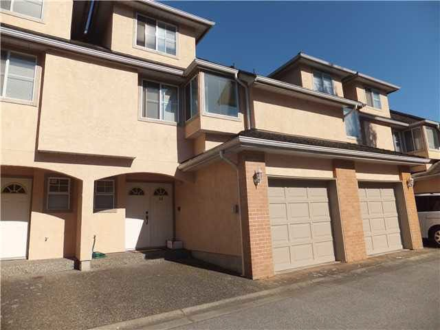 Main Photo: 58 8120 GENERAL CURRIE ROAD in Richmond: Brighouse South Townhouse for sale ()  : MLS®# V965443