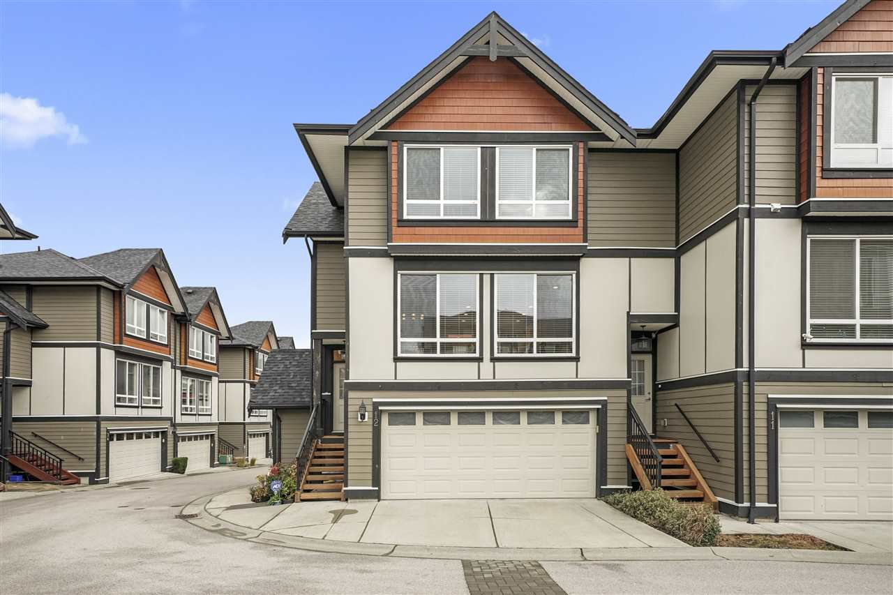 "Main Photo: 12 6378 142 Street in Surrey: Sullivan Station Townhouse for sale in ""Kendra"" : MLS®# R2517944"