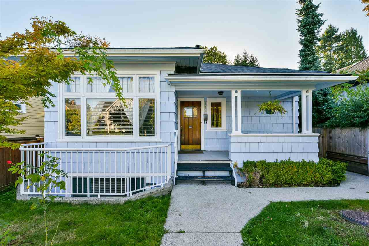 """Main Photo: 416 FOURTH Street in New Westminster: Queens Park House for sale in """"QUEENS PARK"""" : MLS®# R2525156"""