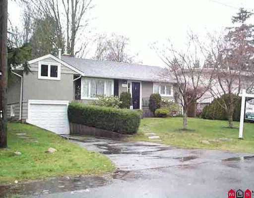 Main Photo: 1707 156A ST in White Rock: King George Corridor House for sale (South Surrey White Rock)  : MLS®# F2600161
