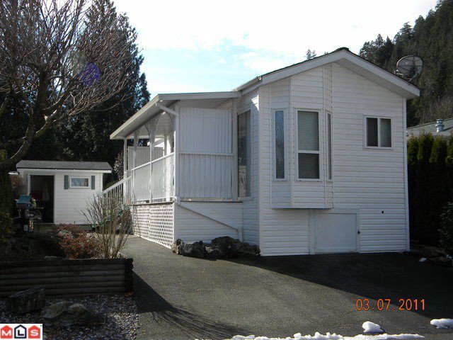 "Main Photo: 32 14600 MORRIS VALLEY Road in Agassiz: Hemlock Manufactured Home for sale in ""Tapadera Estates"" (Mission)  : MLS®# F1106180"