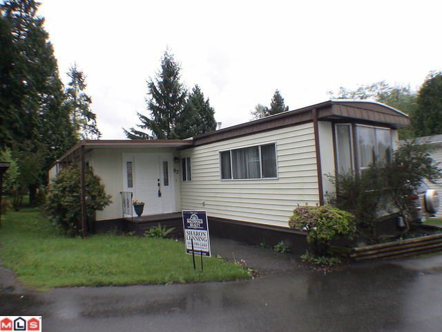 "Main Photo: 93 24330 FRASER Highway in Langley: Otter District Manufactured Home for sale in ""Langley Grove Estates"" : MLS®# F1128799"