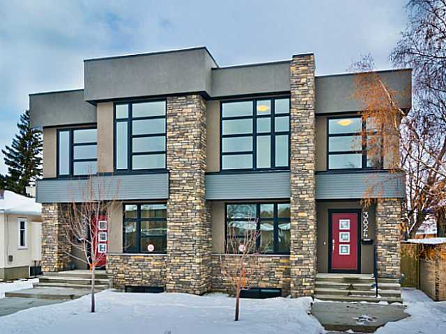 Main Photo: 3824 1 Street NW in Calgary: Highland Park Residential Attached for sale : MLS®# C3642904