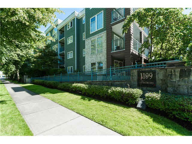 "Main Photo: 403 1199 WESTWOOD Street in Coquitlam: North Coquitlam Condo for sale in ""LAKESIDE TERRACE"" : MLS®# V1105956"