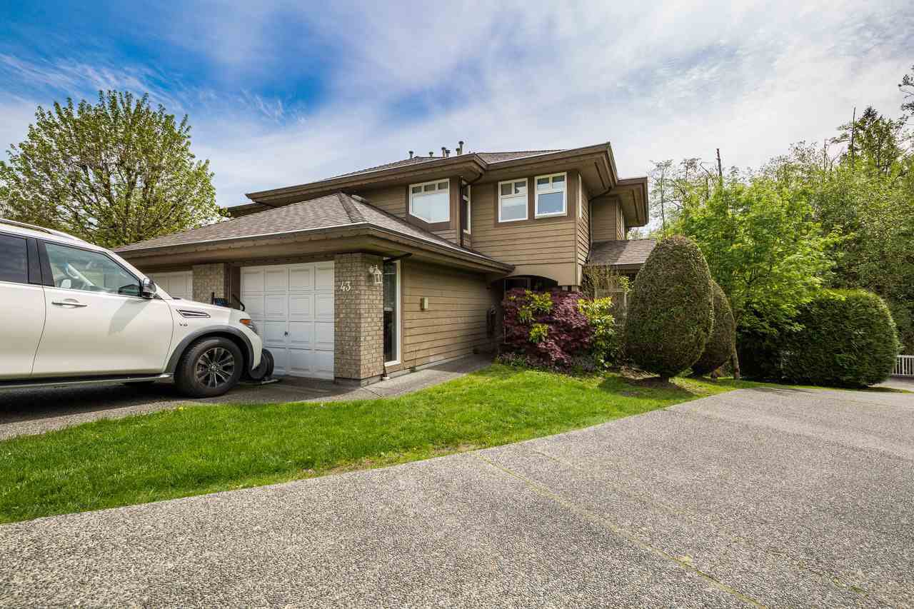 Main Photo: 43 11737 236 Street in Maple Ridge: Cottonwood MR Townhouse for sale : MLS®# R2164372