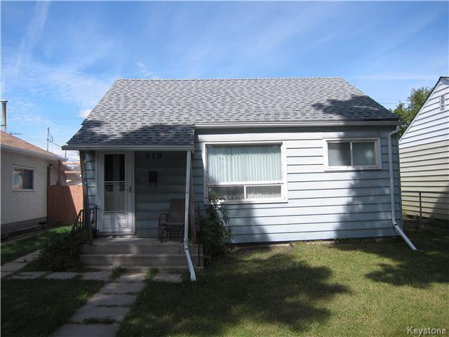 Main Photo: 679 Ebby Avenue in Winnipeg: Residential for sale (1B)  : MLS®# 1723789