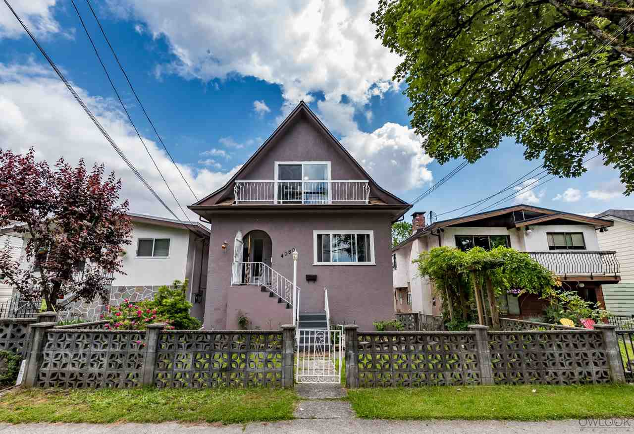 Main Photo: 4080 WELWYN STREET in Vancouver: Victoria VE House for sale (Vancouver East)  : MLS®# R2202029