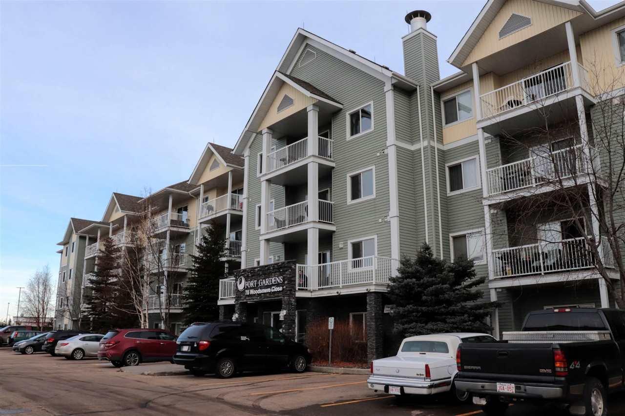 Main Photo: 408 70 WOODSMERE Close: Fort Saskatchewan Condo for sale : MLS®# E4137343