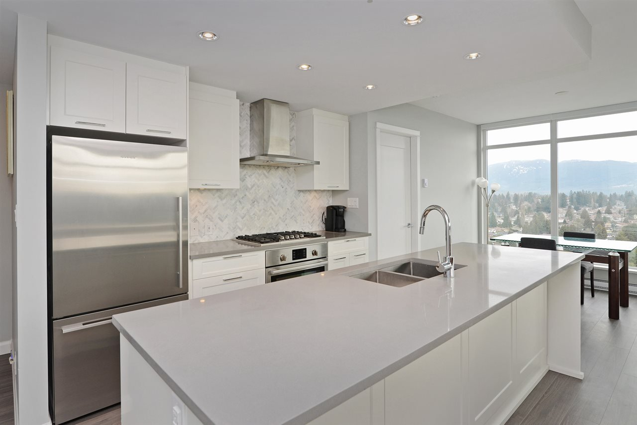 """Main Photo: 2307 520 COMO LAKE Avenue in Coquitlam: Coquitlam West Condo for sale in """"THE CROWN"""" : MLS®# R2349805"""