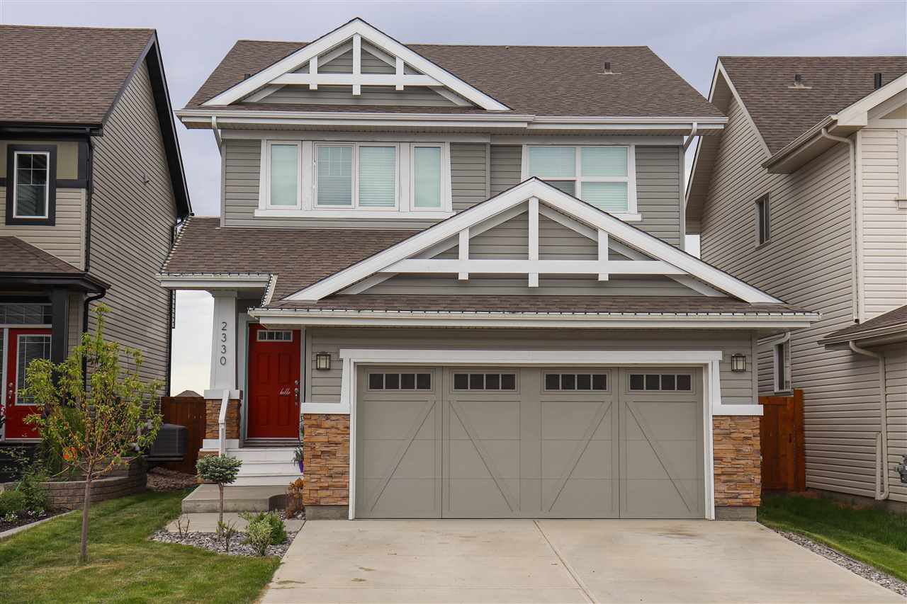 Main Photo: 2330 CASSIDY Way in Edmonton: Zone 55 House for sale : MLS®# E4160804