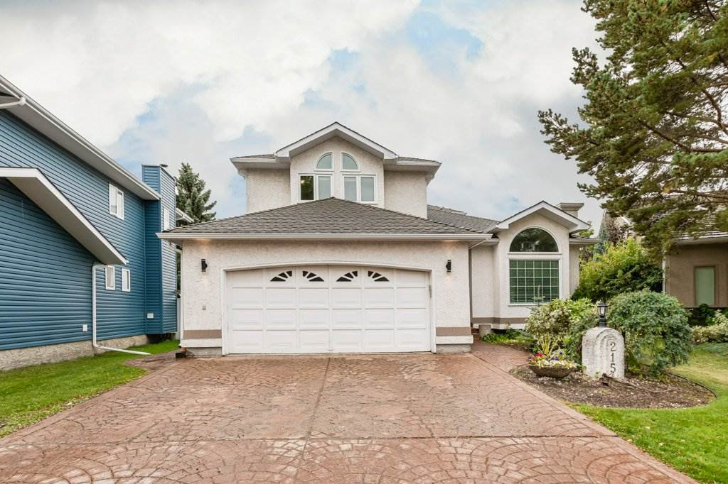 Main Photo: 215 HEAGLE Crescent in Edmonton: Zone 14 House for sale : MLS®# E4214163
