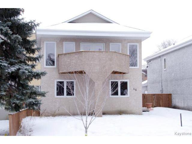 Main Photo: 46 Dundurn Place in WINNIPEG: West End / Wolseley Residential for sale (West Winnipeg)  : MLS®# 1502643