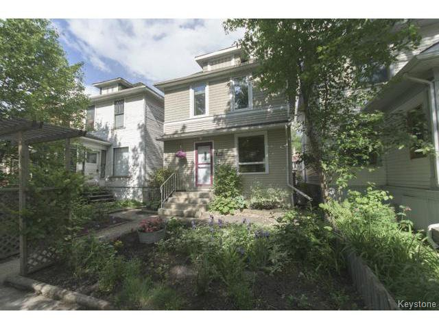 Main Photo: 295 Aubrey Street in WINNIPEG: West End / Wolseley Residential for sale (West Winnipeg)  : MLS®# 1516381