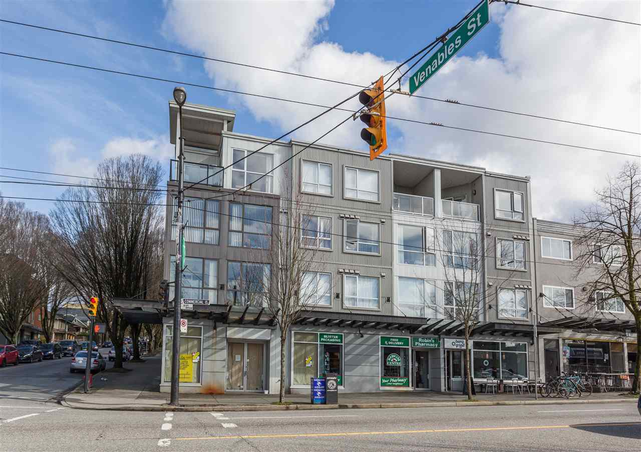 "Main Photo: 304 1718 VENABLES Street in Vancouver: Grandview VE Condo for sale in ""CITY VIEW TERRACES"" (Vancouver East)  : MLS®# R2145725"