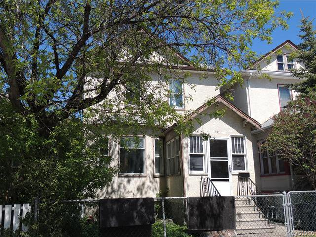 Main Photo: 391 Mountain Avenue in Winnipeg: Residential for sale (4A)  : MLS®# 1712032