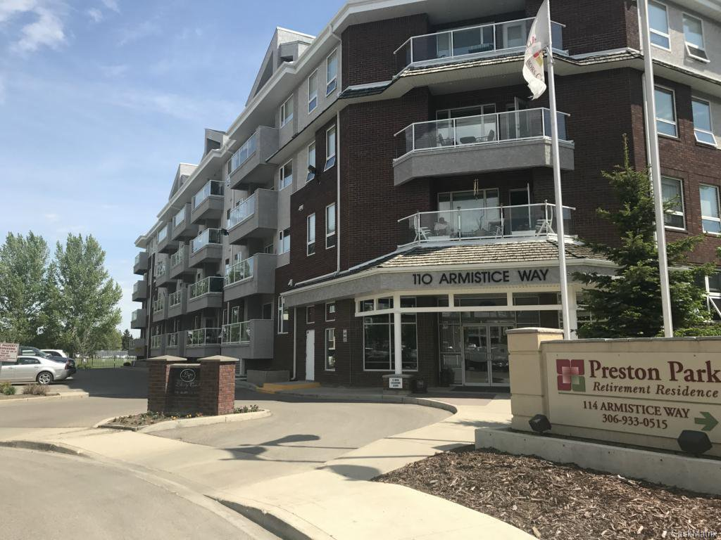 Main Photo: 112 110 Armistice Way in Saskatoon: Nutana S.C. Residential for sale : MLS®# SK611991