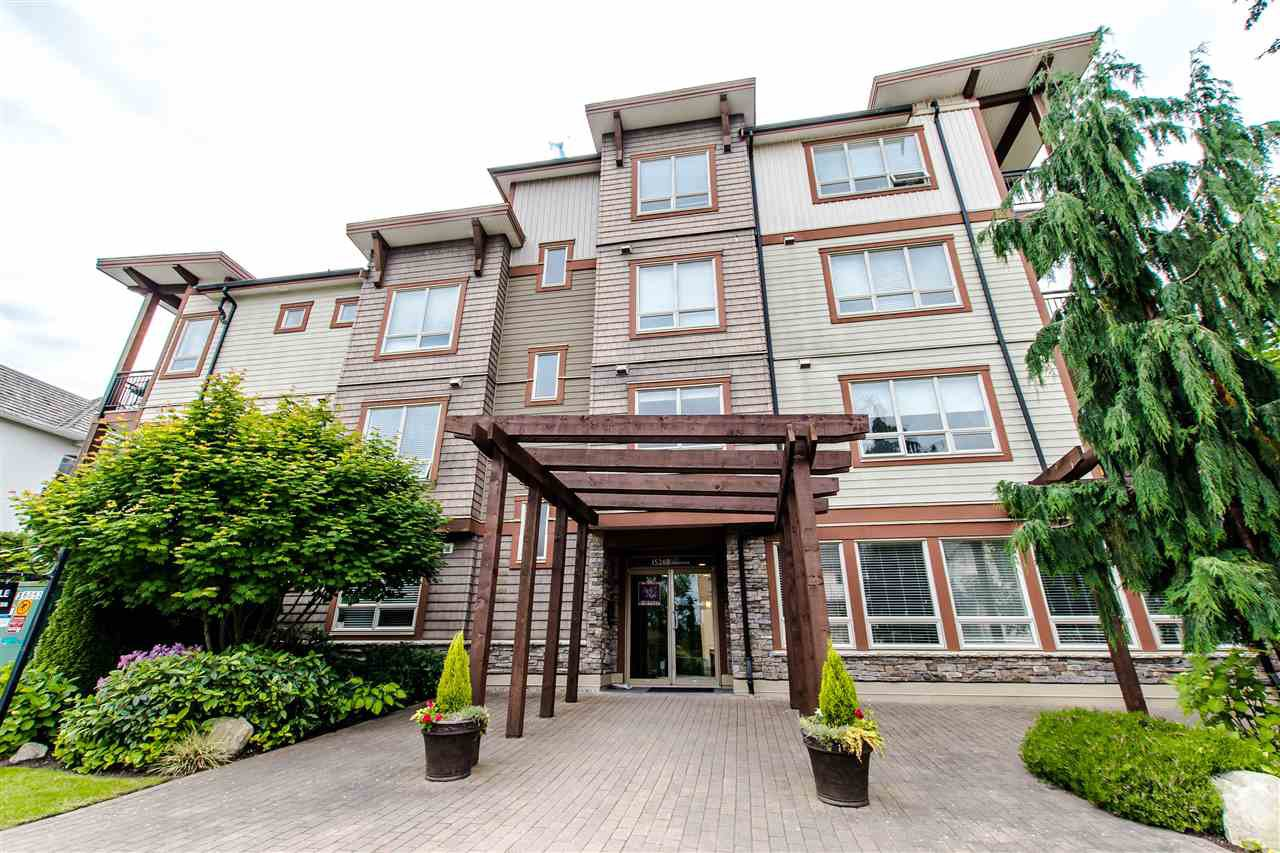 """Main Photo: 100 15268 18 Avenue in Surrey: King George Corridor Condo for sale in """"Park Place"""" (South Surrey White Rock)  : MLS®# R2295314"""