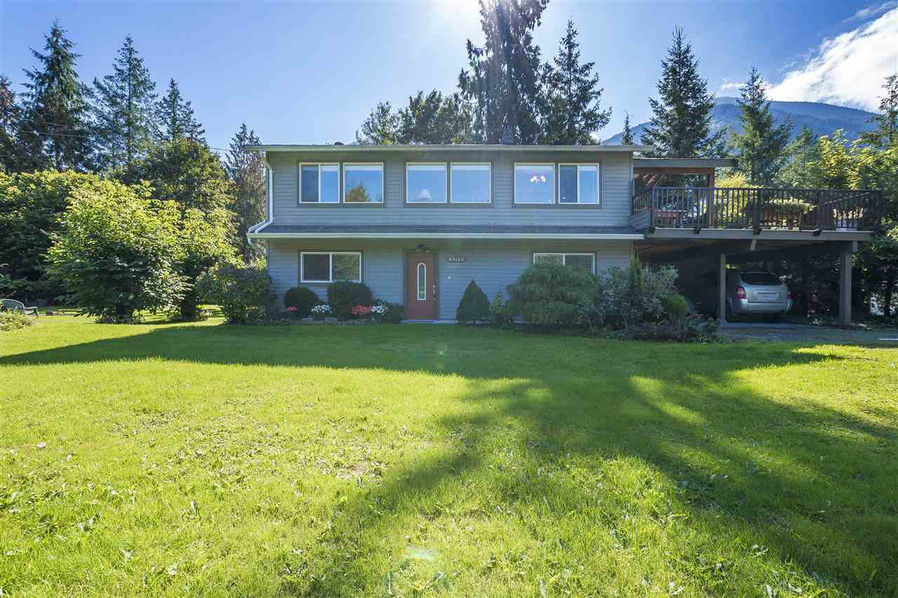 Main Photo: 49160 BELL ACRES Road in Sardis - Chwk River Valley: Chilliwack River Valley House for sale (Sardis)  : MLS®# R2351803