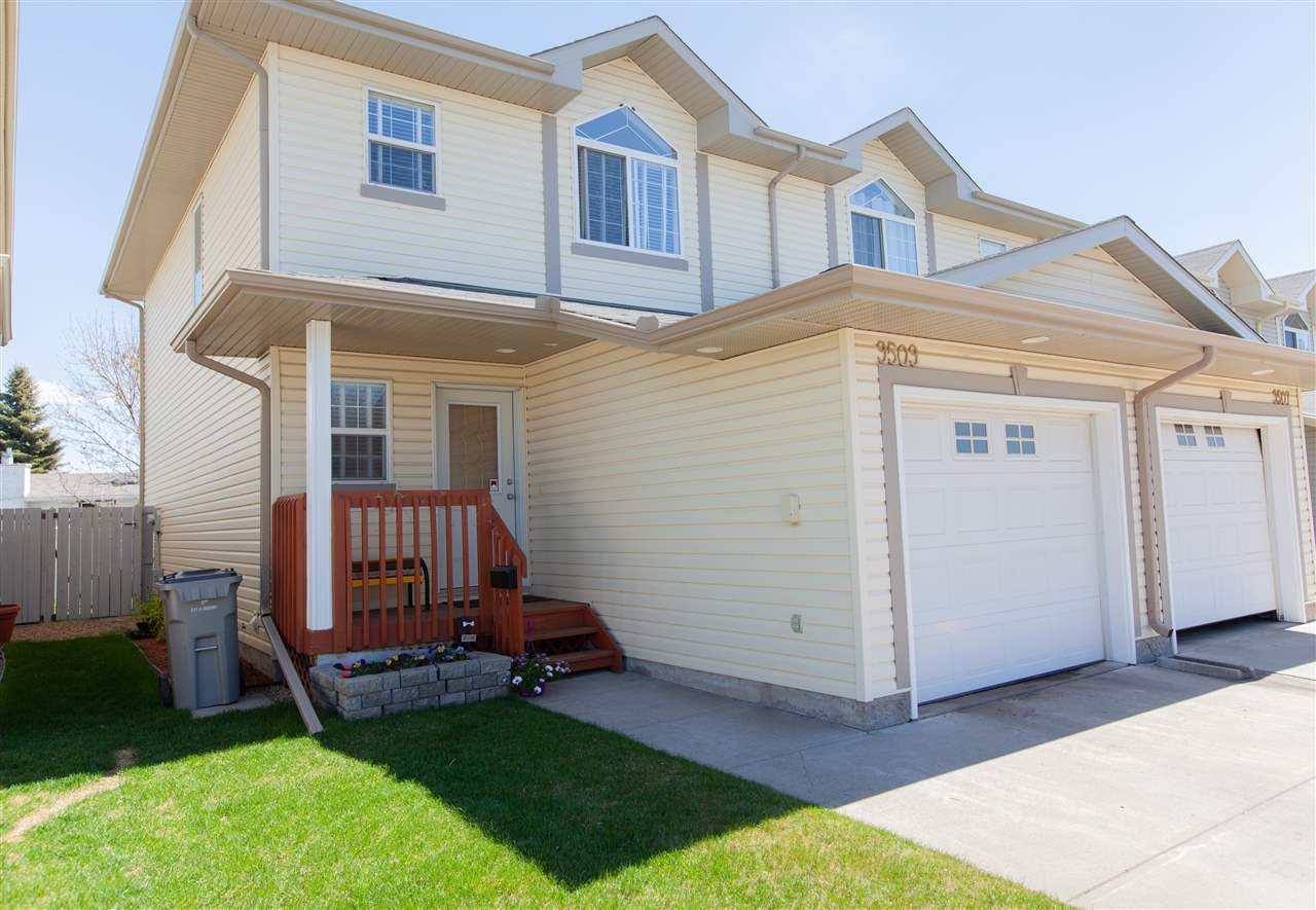 Main Photo: 9509 99 Street: Morinville Townhouse for sale : MLS®# E4158069