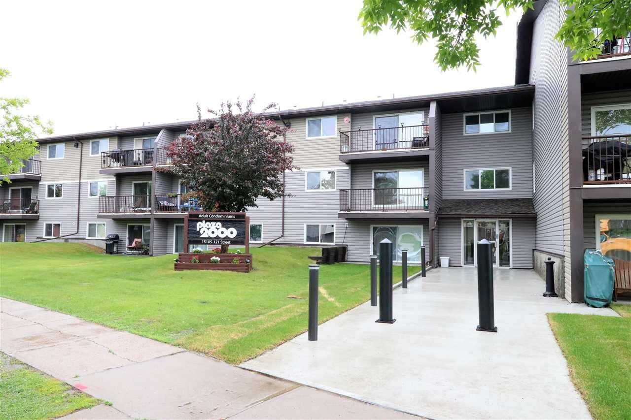 Main Photo: 320 15105 121 Street in Edmonton: Zone 27 Condo for sale : MLS®# E4162780