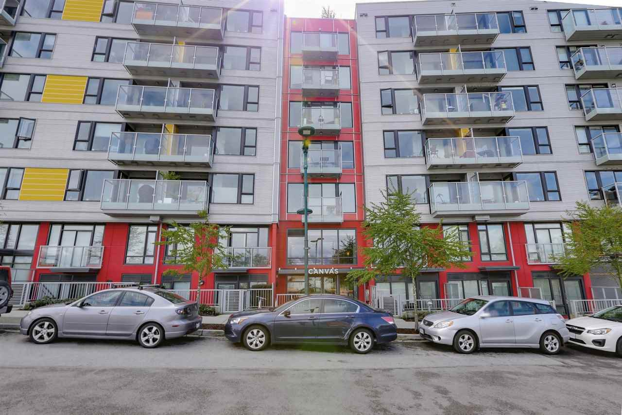 "Main Photo: 410 384 E 1ST Avenue in Vancouver: Strathcona Condo for sale in ""CANVAS"" (Vancouver East)  : MLS®# R2393918"