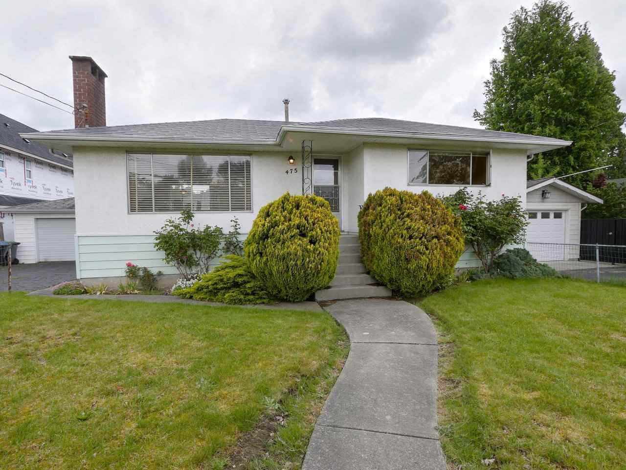 "Main Photo: 475 CUMBERLAND Street in New Westminster: The Heights NW House for sale in ""The Heights"" : MLS®# R2455900"