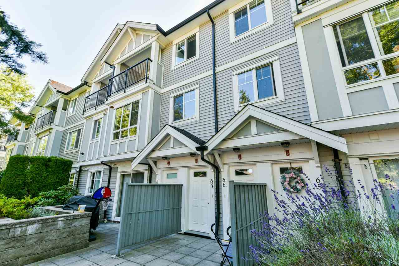 "Main Photo: 67 13239 OLD YALE Road in Surrey: Whalley Townhouse for sale in ""Fuse"" (North Surrey)  : MLS®# R2480396"