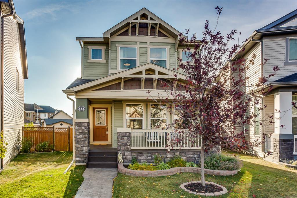 Main Photo: 115 SKYVIEW SPRINGS Gardens NE in Calgary: Skyview Ranch Detached for sale : MLS®# A1035316