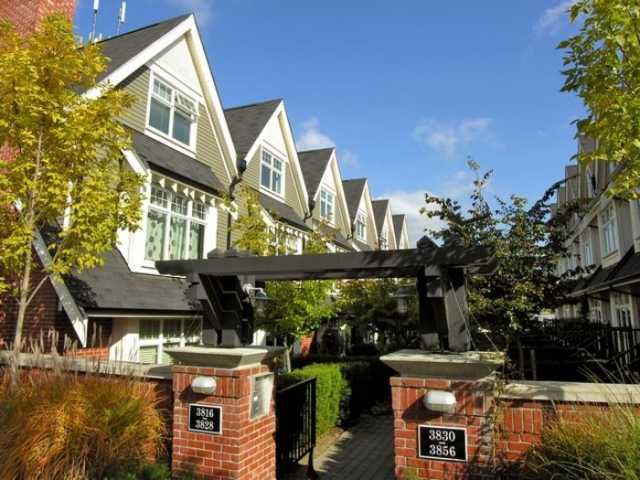 Main Photo: 3818 Welwyn Street in Vancouver: Townhouse for sale (Vancouver East)  : MLS®# V792456