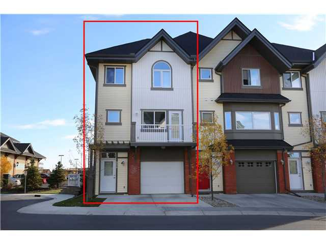 Main Photo: 206 WENTWORTH Villa SW in CALGARY: West Springs Townhouse for sale (Calgary)  : MLS®# C3589320