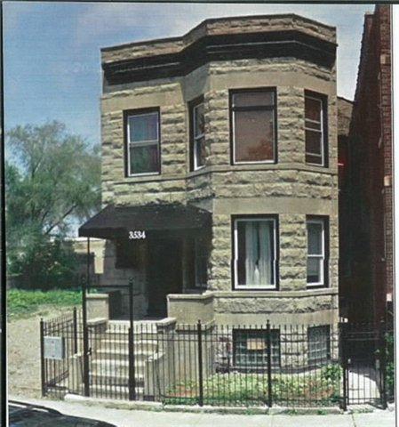Main Photo: 3534 Flournoy Street in CHICAGO: CHI - East Garfield Park Multi Family (2-4 Units) for sale ()  : MLS®# 08737415