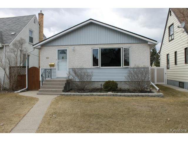 Main Photo: 83 Des Meurons Street in WINNIPEG: St Boniface Residential for sale (South East Winnipeg)  : MLS®# 1508331