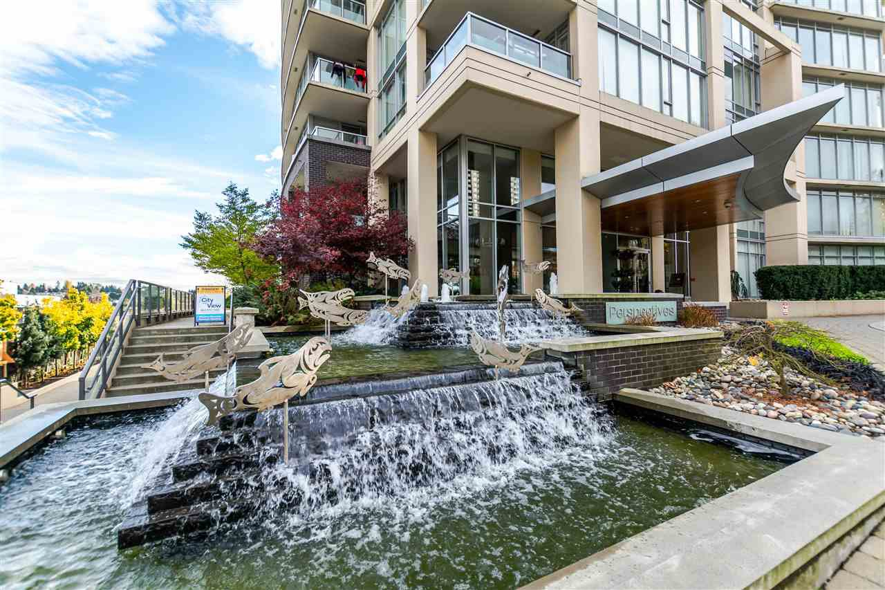 """Main Photo: 1005 2133 DOUGLAS Road in Burnaby: Brentwood Park Condo for sale in """"PERSPECTIVES"""" (Burnaby North)  : MLS®# R2128938"""