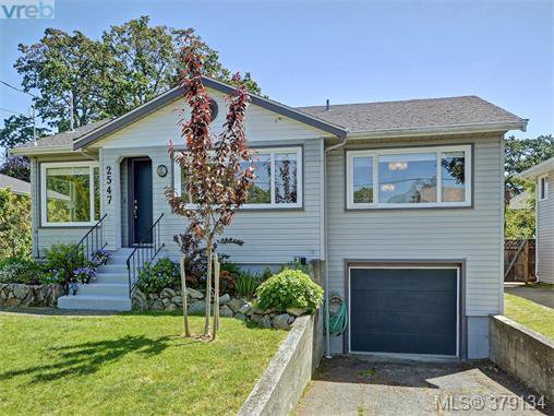 Main Photo: 2547 Scott Street in VICTORIA: Vi Oaklands Single Family Detached for sale (Victoria)  : MLS®# 379134