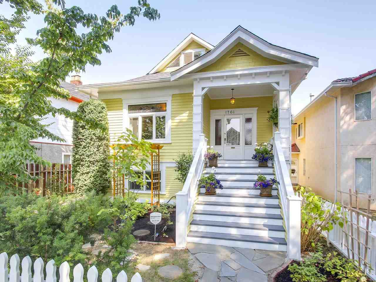 Main Photo: 1761 E 13TH AVENUE in Vancouver: Grandview VE House for sale (Vancouver East)  : MLS®# R2202018