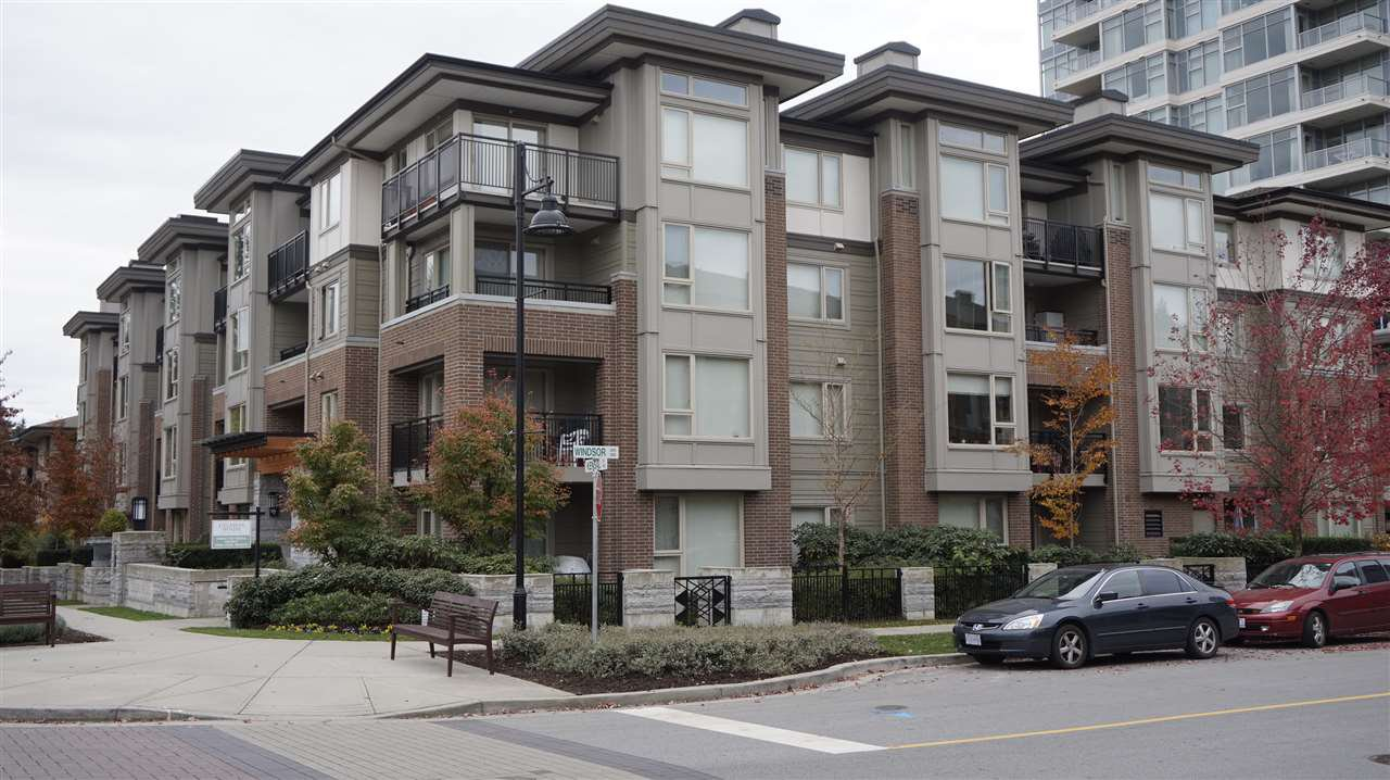 "Main Photo: 311 1128 KENSAL Place in Coquitlam: New Horizons Condo for sale in ""CELADON HOUSE"" : MLS®# R2220939"