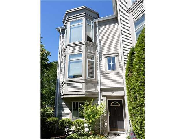Main Photo: # 28 6179 NO 1 RD RD in Richmond: Terra Nova Townhouse for sale : MLS®# V1017540