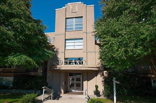 "Photo 1: Photos: 407 3023 W 4TH Avenue in Vancouver: Kitsilano Condo for sale in ""Delano"" (Vancouver West)  : MLS®# R2253854"