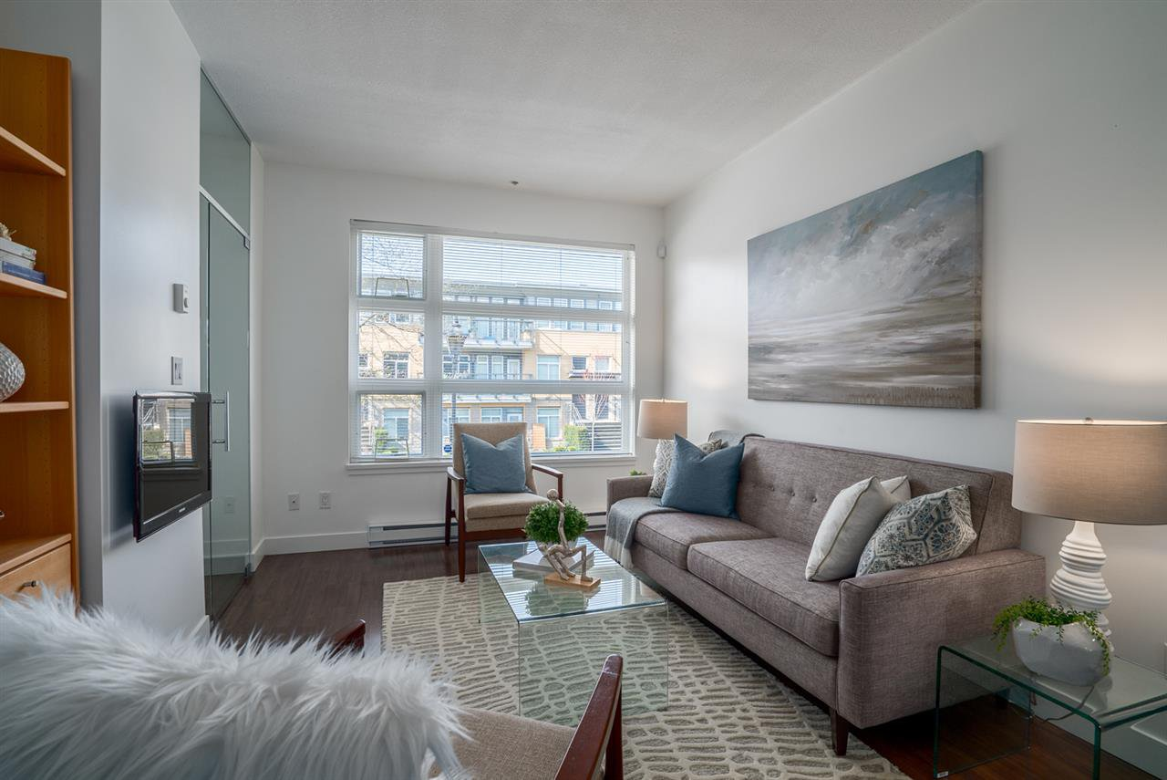 """Main Photo: 204 5632 KINGS Road in Vancouver: University VW Townhouse for sale in """"GALLERIA"""" (Vancouver West)  : MLS®# R2255313"""