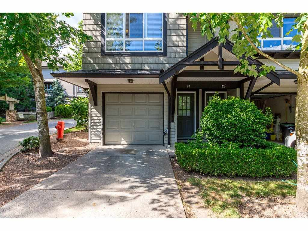 "Main Photo: 27 6747 203RD Street in Langley: Willoughby Heights Townhouse for sale in ""Sagebrook"" : MLS®# R2275661"