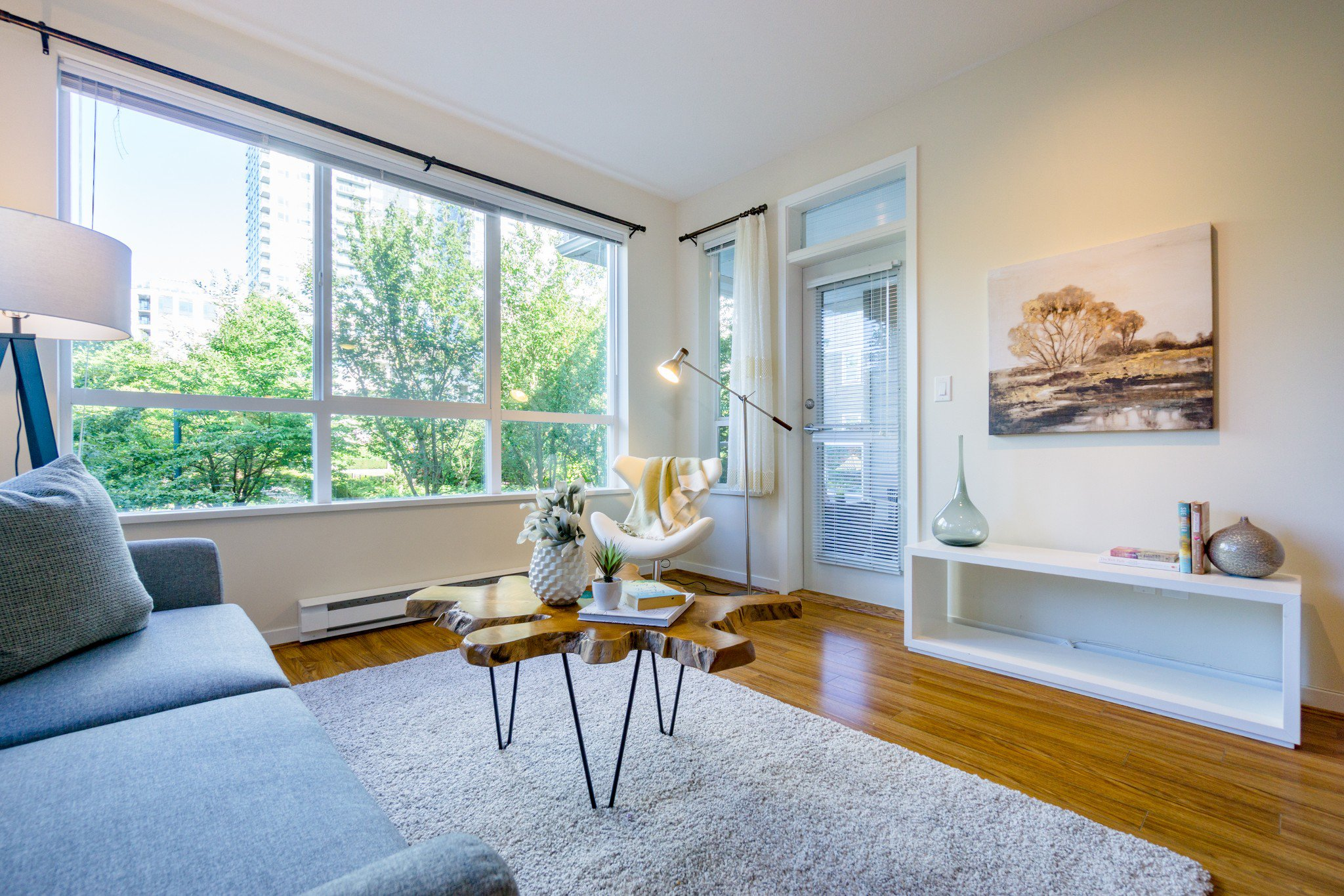 Main Photo: 208 3551 FOSTER Avenue in Vancouver: Collingwood VE Condo for sale (Vancouver East)  : MLS®# R2291555