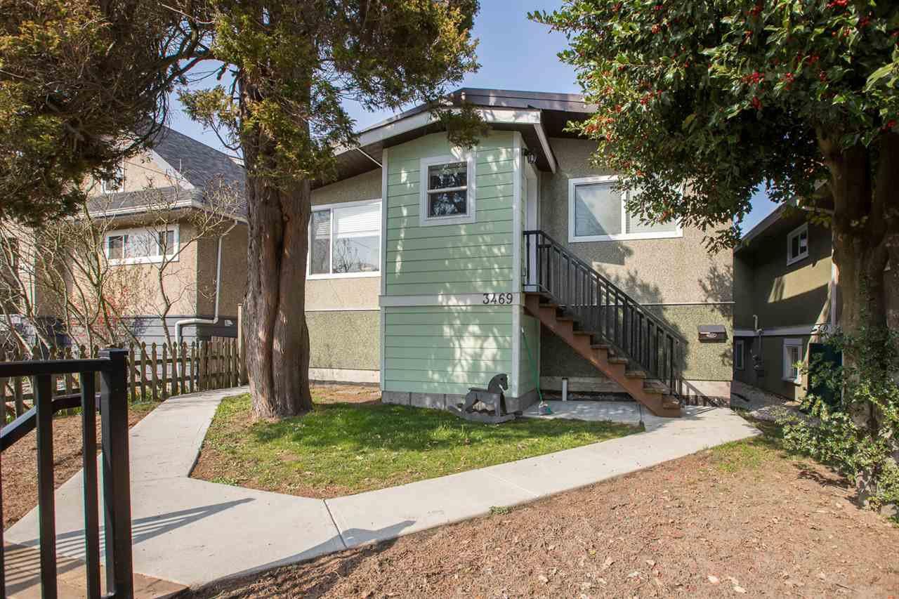 Main Photo: 3469 ADANAC Street in Vancouver: Renfrew VE House for sale (Vancouver East)  : MLS®# R2357150
