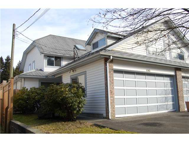 Main Photo: 1743 HIE Avenue in Coquitlam: Maillardville House 1/2 Duplex for sale : MLS®# V870879