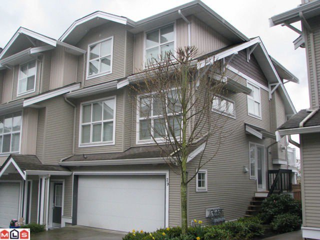"Main Photo: 29 20460 66TH Avenue in Langley: Willoughby Heights Townhouse for sale in ""WILLOW EDGE"" : MLS®# F1119956"