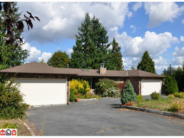 Main Photo: 17359  HILLVIEW PL in Surrey: Grandview Surrey House for sale (South Surrey White Rock)  : MLS®# F1106616