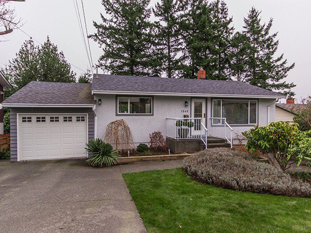 Main Photo: 1242 PARKER ST in : White Rock House for sale : MLS®# F1304866