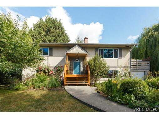 Main Photo: 748 Parkridge Street in VICTORIA: SW Northridge Single Family Detached for sale (Saanich West)  : MLS®# 366641