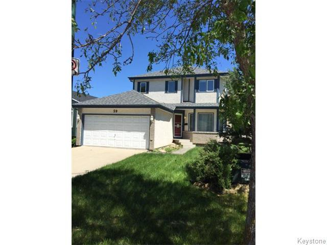 Main Photo: 59 Blue Horizon Cove in Winnipeg: North Kildonan Residential for sale (North East Winnipeg)  : MLS®# 1616755