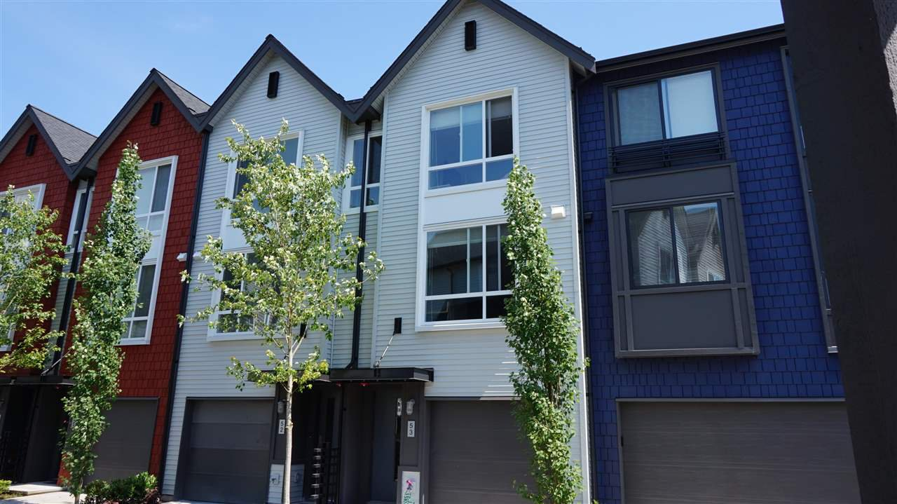 "Main Photo: 53 2310 RANGER Lane in Port Coquitlam: Riverwood Townhouse for sale in ""FREMONT BLUE"" : MLS®# R2087108"
