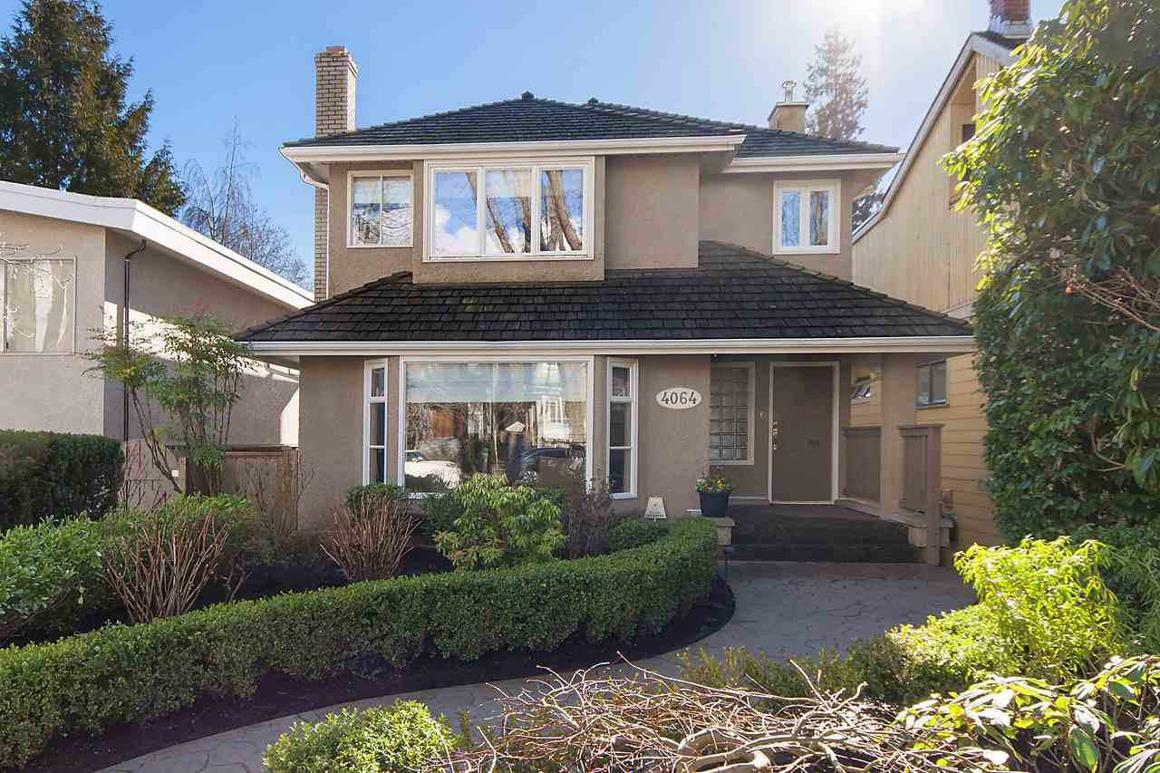Main Photo: 4064 W 32ND Avenue in Vancouver: Dunbar House for sale (Vancouver West)  : MLS®# R2141284